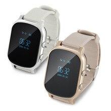 GPS Tracker Smart Uhr T58 für Kinder Kinder GPS Armband Google Map Sos Taste Tracker Gsm GPS Locator Uhr Smartwatch