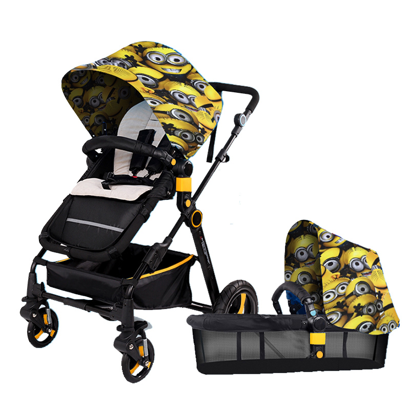 Kid Buggy Baby Stroller Pram Style Pushchairs Lightweight Portable Folding Baby Umbrella Stroller Shockproof Baby Car Carriage