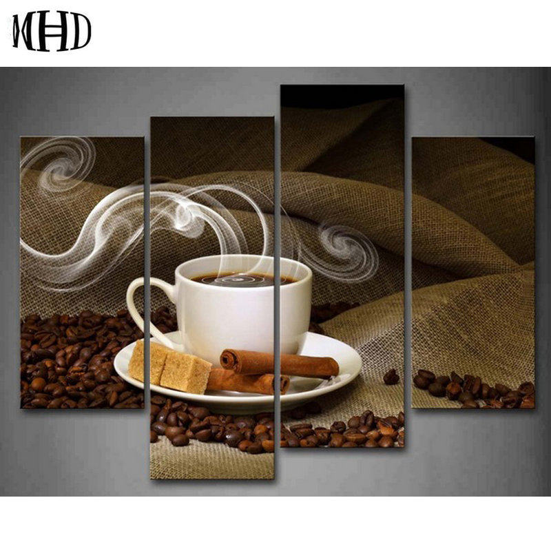 नई कॉफी पूर्ण और गोल - कला, शिल्प और सिलाई