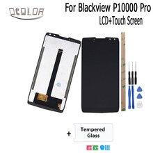 """Ocolor ため Blackview P10000 Pro の Lcd ディスプレイとタッチスクリーン + ツール + 接着剤 + フィルム 5.99 """"Blackview p10000 プロの携帯電話"""