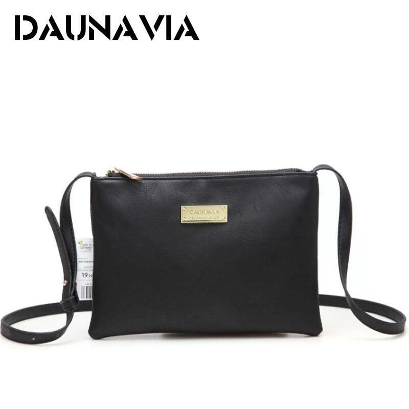 DAUNAVIA Fashion Luxury Handbags Women Bags Designer Leather Women Messenger Bags Shoulder Bag Female Ladies Clutch Handbags