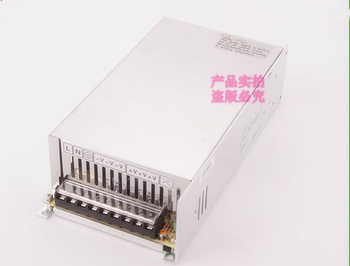 600 watt 42 volt 14.3 amp monitoring switching power supply 600w 42v 14.3A switching industrial monitoring transformer image