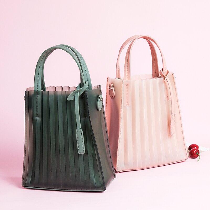 Mode TPU femmes sacs marque Designers femmes Messenger sacs mignon été sacs pour dames