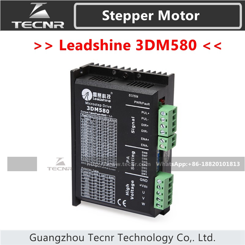 цена на Leadshine 3DM580 Stepper Driver DC18-50V For 3 Phase Nema23 Nema34 Stepper Motor