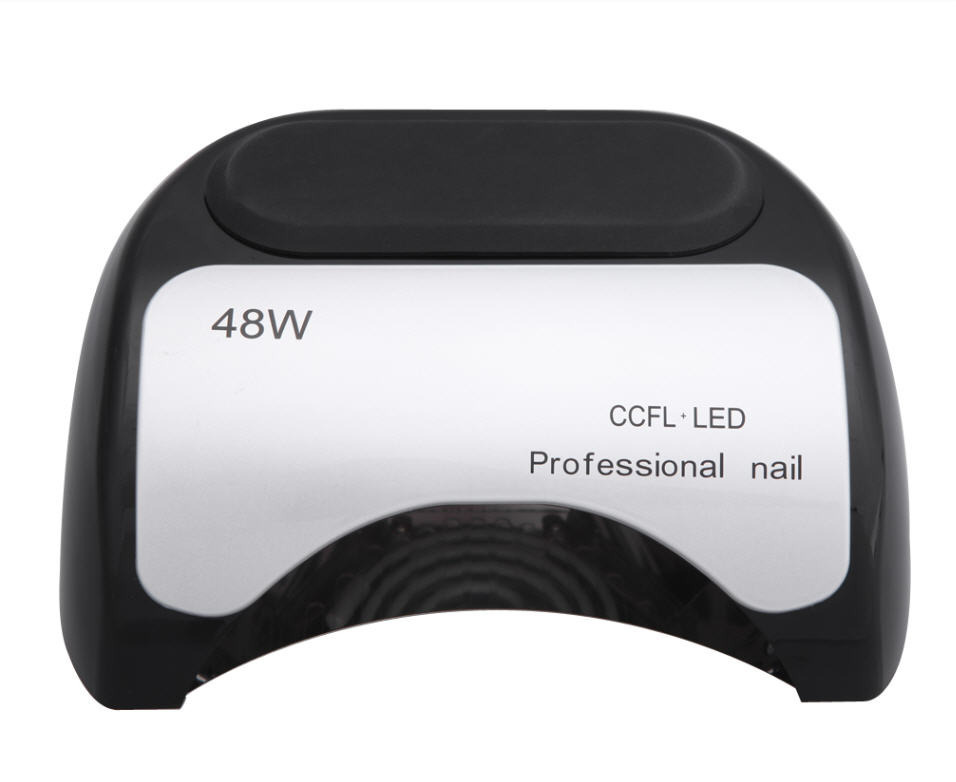 48W CCFL+ LED UV Lamp for Nail Art EU AU US UK Plug Red/White/Black Automatic Gel Curing LED Light Nail Polish Lamp Nail Dryer professional 48w led uv lamp for curing nail gel polish nail lamp for nail art tools with eu au us uk plug