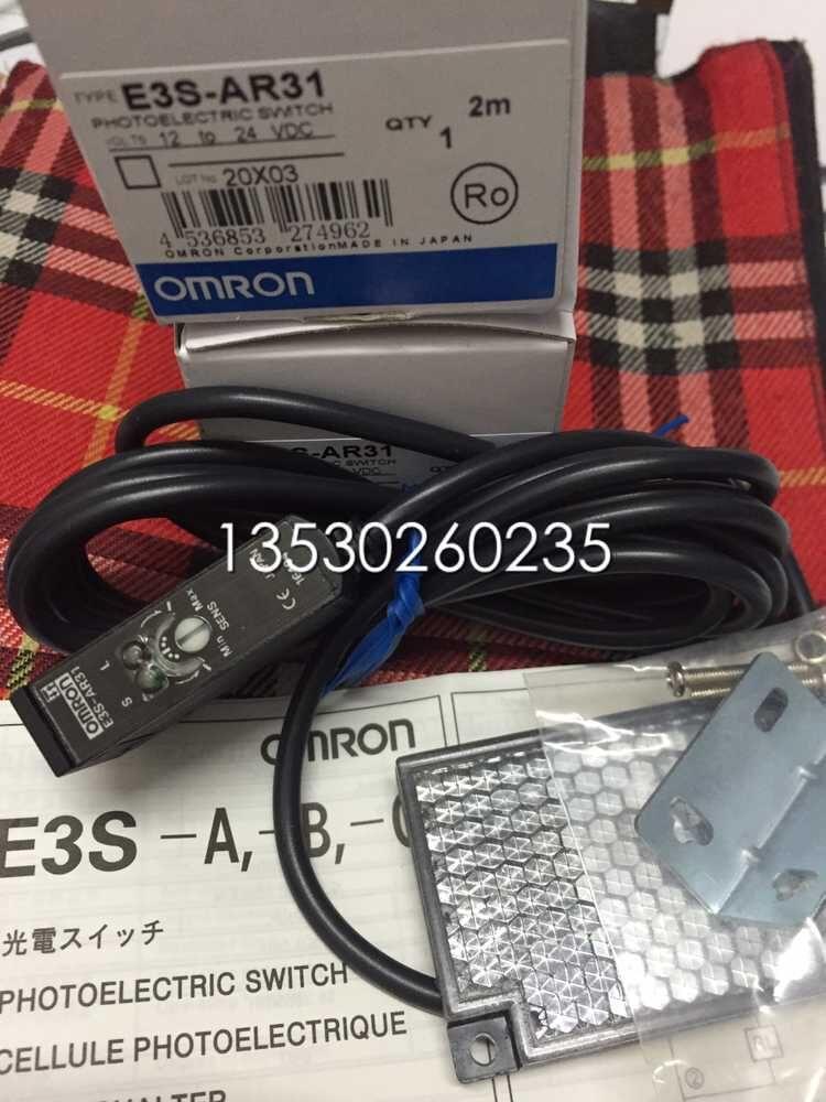 E3S-AR31 E3S-AR71 E3S-AR72 E3S-AR11  Photoelectric Switch new original sensor e3s ar11