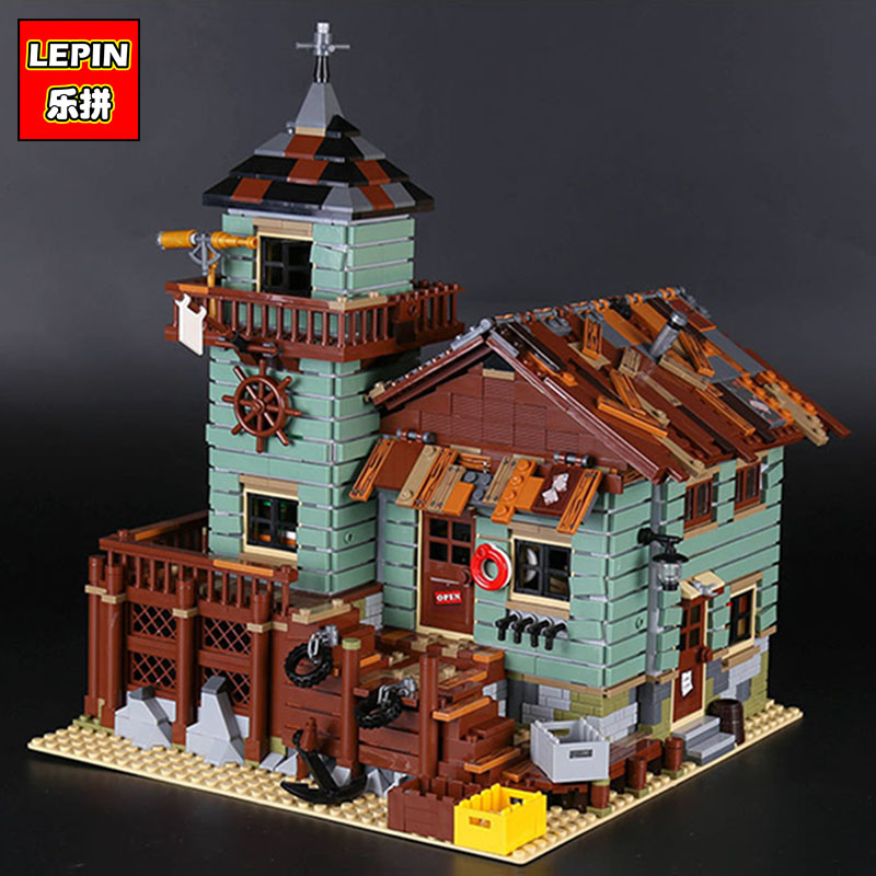 Lepin 16050 the Old Finishing Store Set MOC Series similar to 21310 Building Blocks Bricks toys for Christmas Gift lepin 16050 the old finishing store set moc series 21310 building blocks bricks educational children diy toys christmas gift