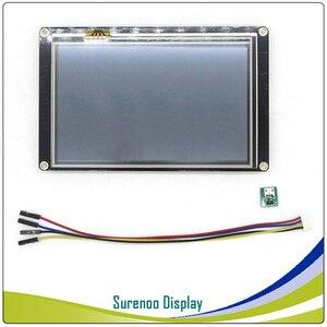 "Image 5 - 5.0"" NX8048K050 Nextion Enhanced HMI USART UART Serial Resistive Touch TFT LCD Module Display Panel for Arduino Raspberry Pi"