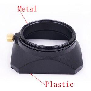 Image 5 - Cubierta de lente de forma cuadrada, 37 39 40,5 43 46 49 52 55 58mm, para Fuji Nikon, Micro Cámara individual, regalo