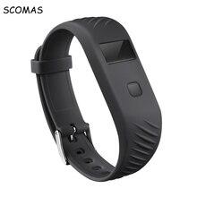 Scomas BL06 Водонепроницаемый Смарт Браслет Спорт фитнес трекер качество сна вызова монитора уведомления напоминание OLED touch ключ