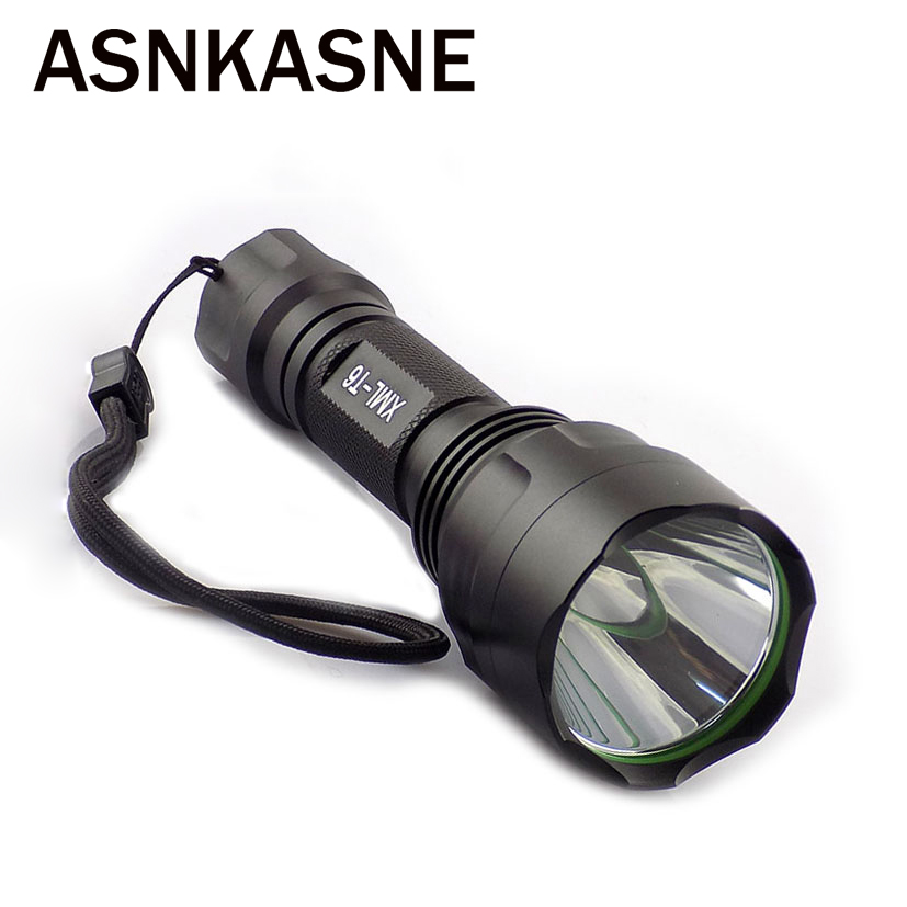 CREE XML-T6 LED Flashlight Torch Light 5 Modes 2000lm Linternas Rechargeable Flashlights Powerful Tactical Multipurpose Lamps