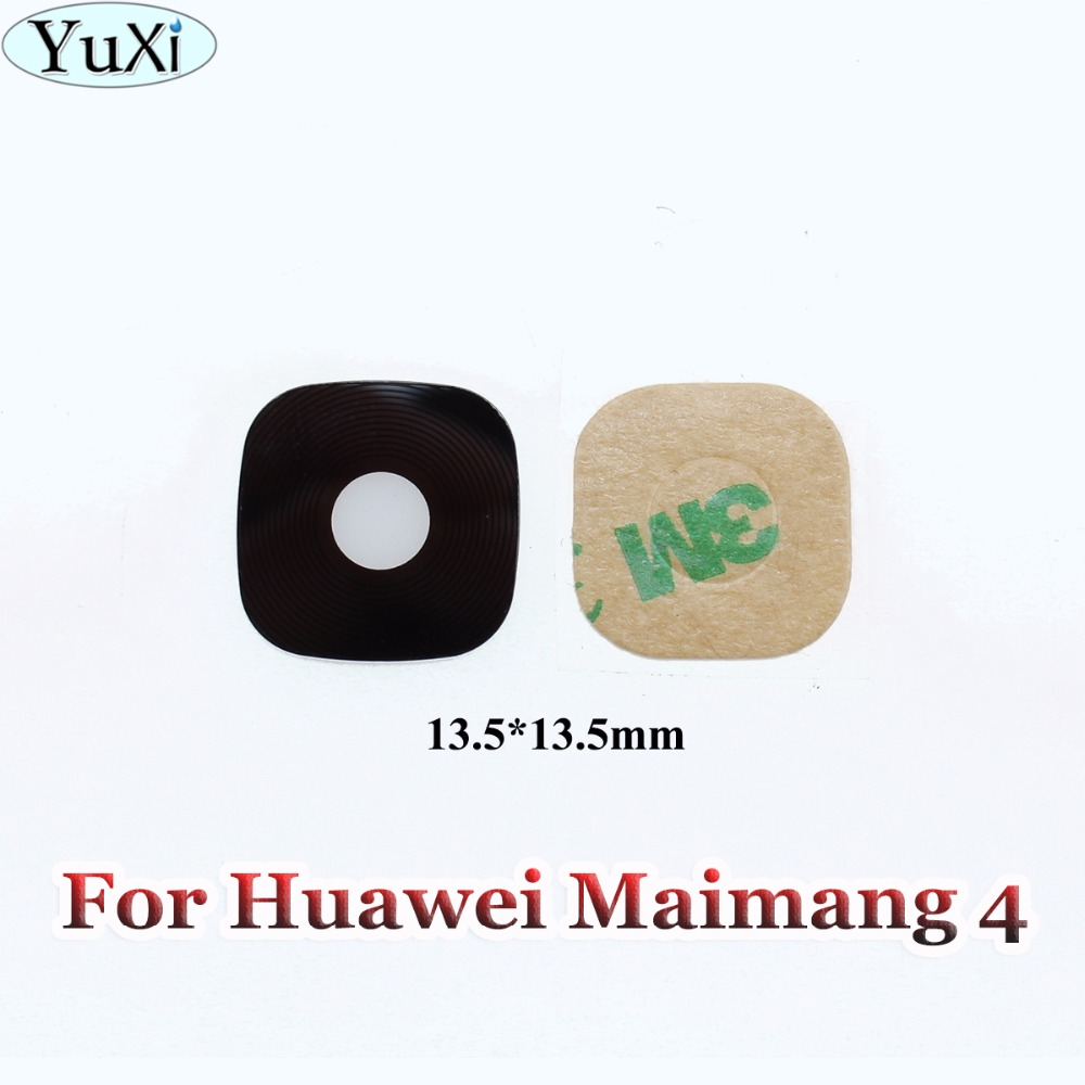 YuXi 1pcs For Huawei G8 Maimang 4 D199 New Rear Camera Glass Lens Cover Repair Parts
