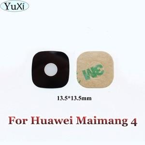 YuXi 1pcs For Huawei G8 Maimang 4 D199 New Rear Camera Glass Lens Cover Repair Parts(China)