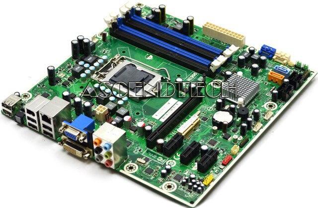 ФОТО original motherboard MS-7613 575765-001 601312-001 601048-001 boards LGA 1156 DDR3 H57 Desktop motherboard
