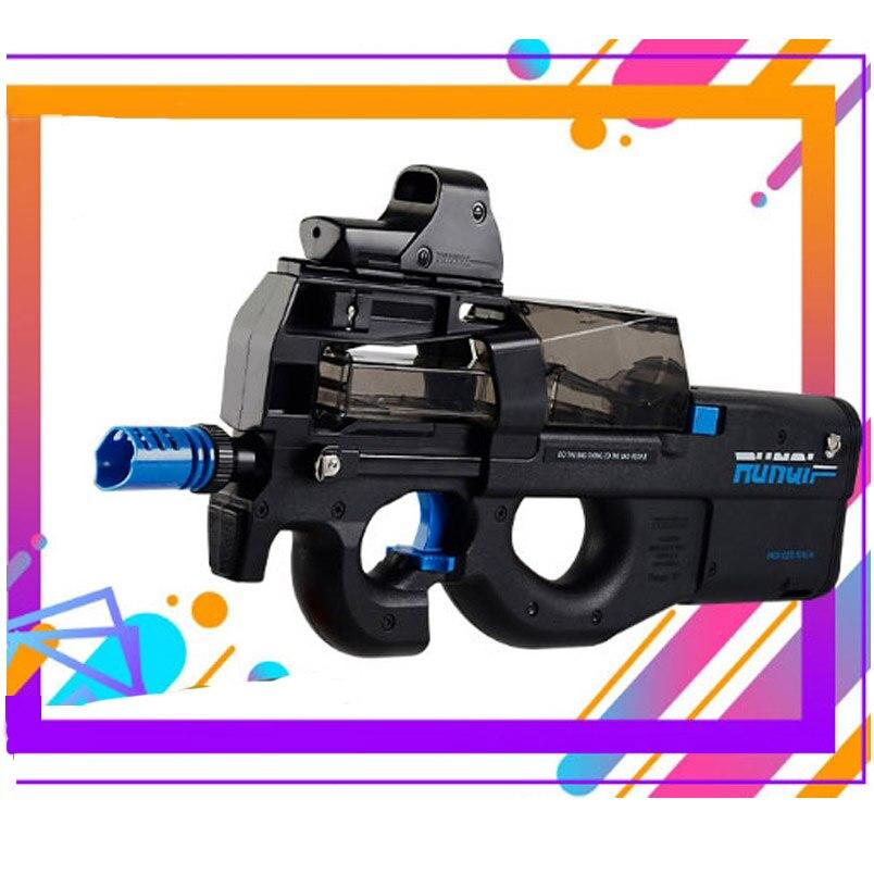 P90 électrique Auto jouet pistolet Graffiti édition en direct CS assaut Snipe arme eau balle éclate pistolet drôle en plein air pistolet jouets - 4