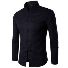 Men Shirt Long Sleeves 2018 Brand Shirts Men Casual Male Sli