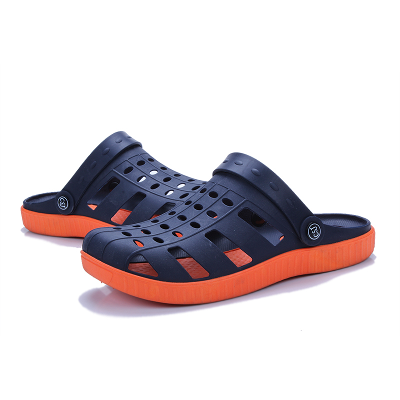 Mens Fashion Garden Clogs Sandals Summer Breathable Casual Hole Shoes Slippers For Men Outdoor Beach Footwear Sandals Hombre