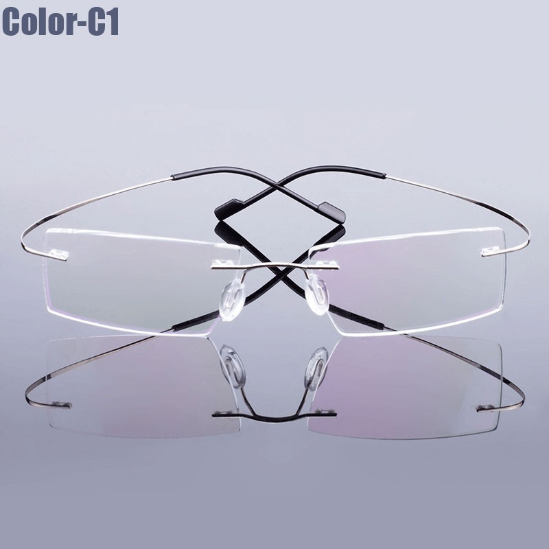 Glasses Frames That Change Color : Aliexpress.com : Buy New Arrival 9 colors fashion rimless ...