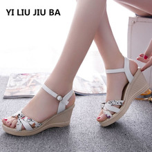 New Shoes Women Sandals Summer Wedge Sandals