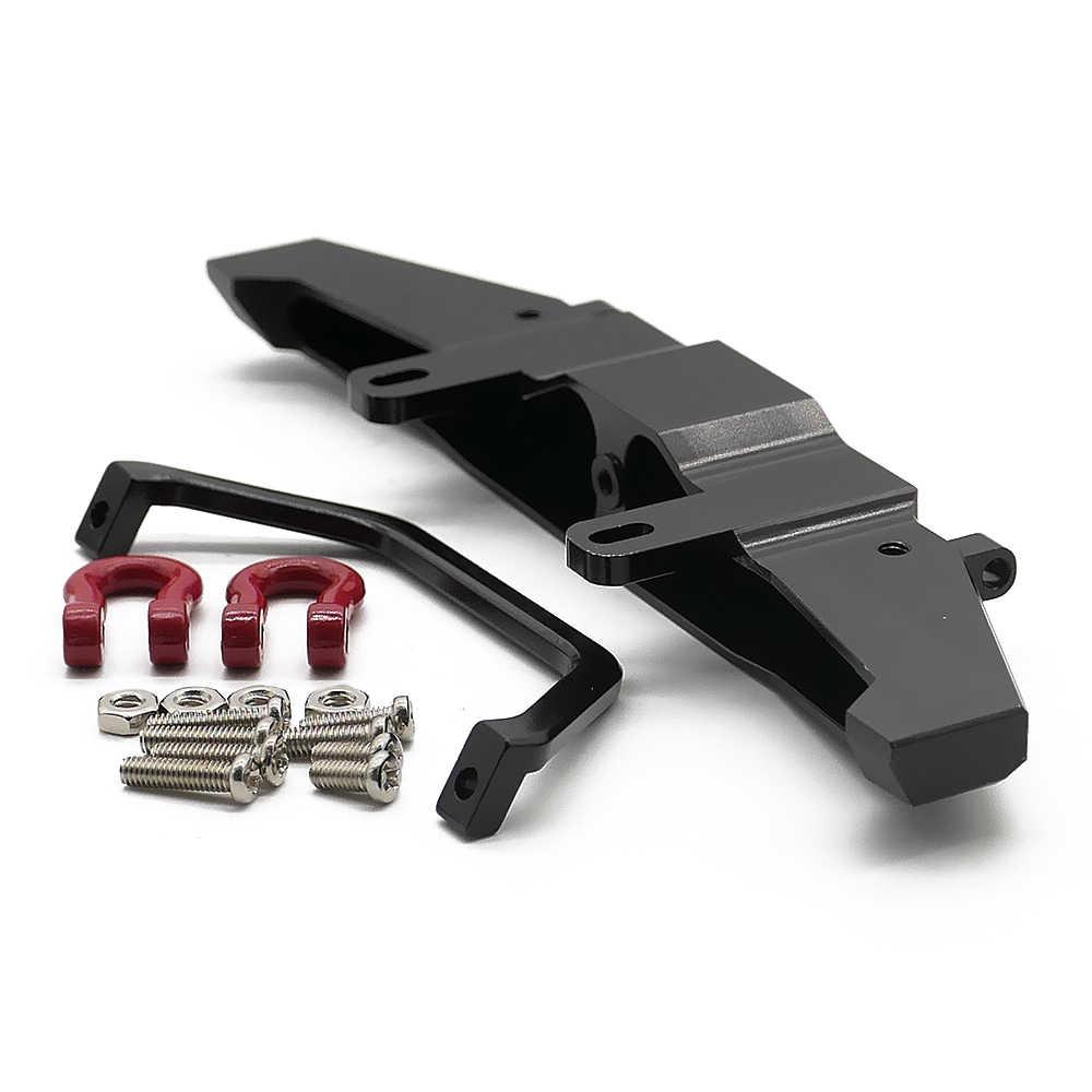 Legering voorbumper voor 1:16 WPL Henglong C-14 C-24 4x4 truck & crawler Afstandsbediening Accessoires hop- ups upgraded onderdelen