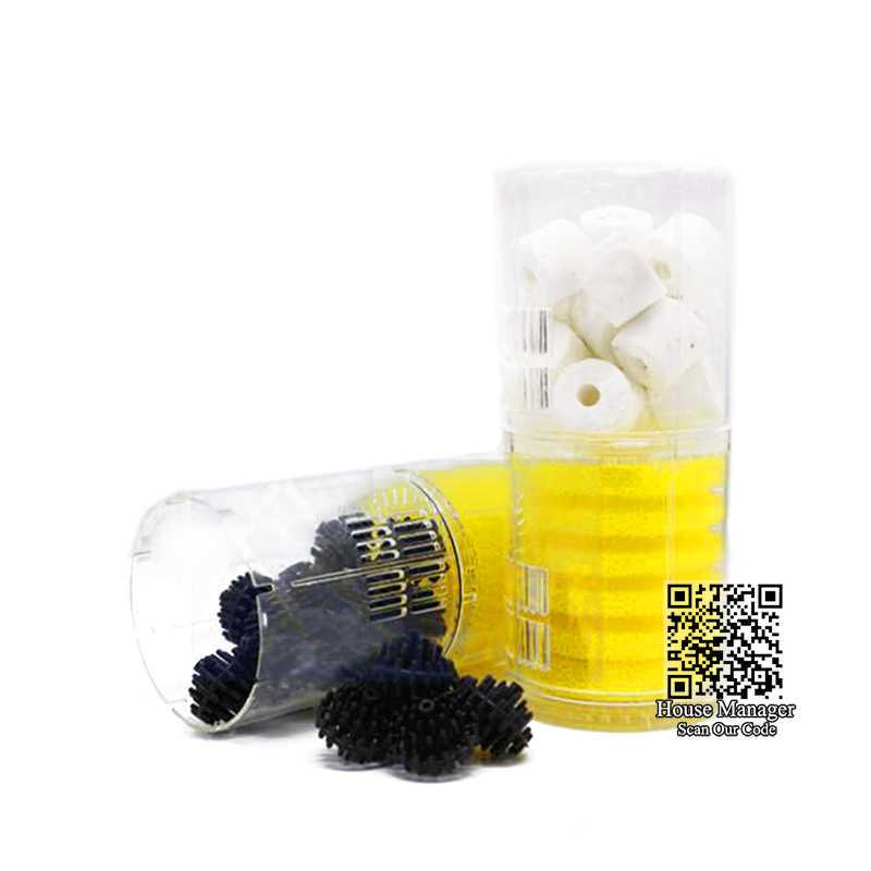 Super Akuarium Filter Filter untuk Aquarium + Air Pompa Udara Oksigen Meningkat, Aquarium Internal Filter Pompa Akuarium Filter