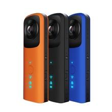"360 панорамный двойной угол Wi-Fi 220D рыбий глаз 0.96 ""ЖК-дисплей Экран Камера MIC Динамик VR видео Камера для Android /iOS смартфон"