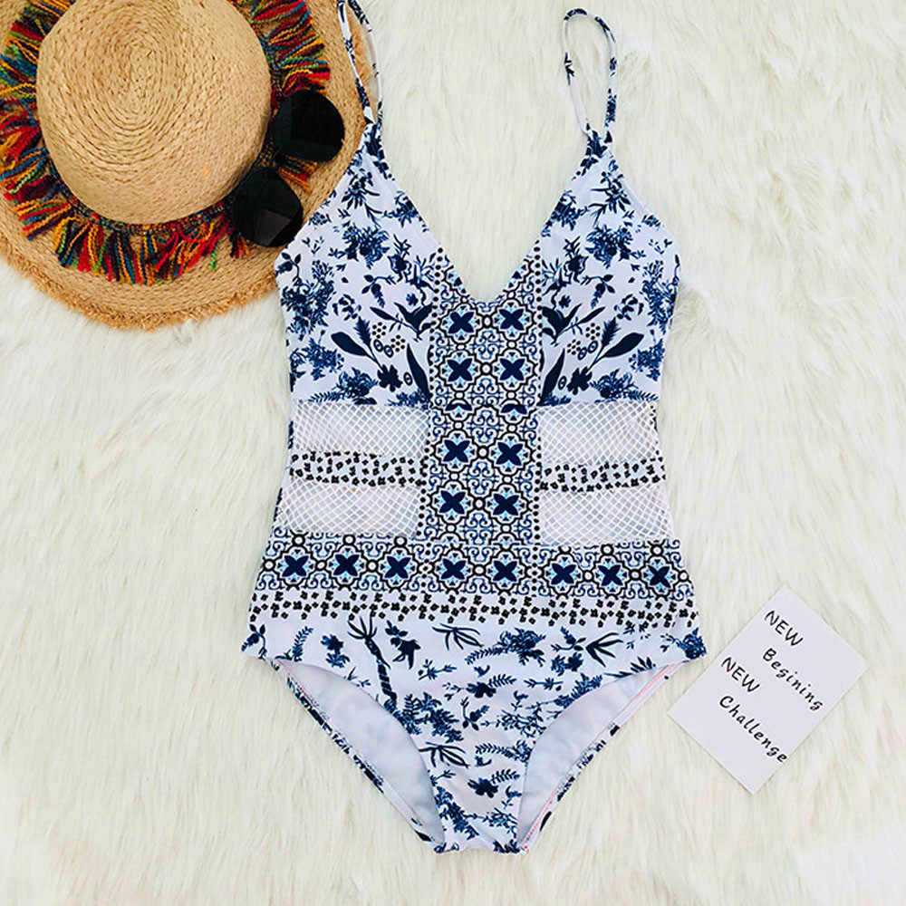 8c02d53f2 ... KANCOOLD Bra   Brief Sets Womens One Piece Monokini Beachwear Bikini  Beach Bathing Suit Padded swimwear ...