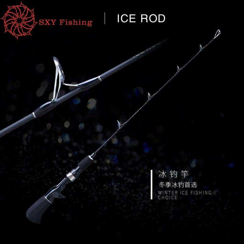 FREE SHIPPING ECOODA-EIB232 0.69M Raft rod Ice fishing rod MINI Fishing rod Fishing force 4kg solid Rod carbon fibre rod