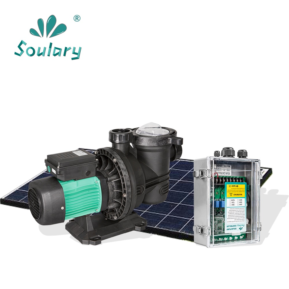 (DHL Free Shipping) 1.5 HP Solar Pump for Swimming Pool | DC Solar Pool Pump  (31m3/h - 19m | Model :  SJP31/19-D72/1000) 3 years guarantee solar wells pumps made in china solar pool pump kit