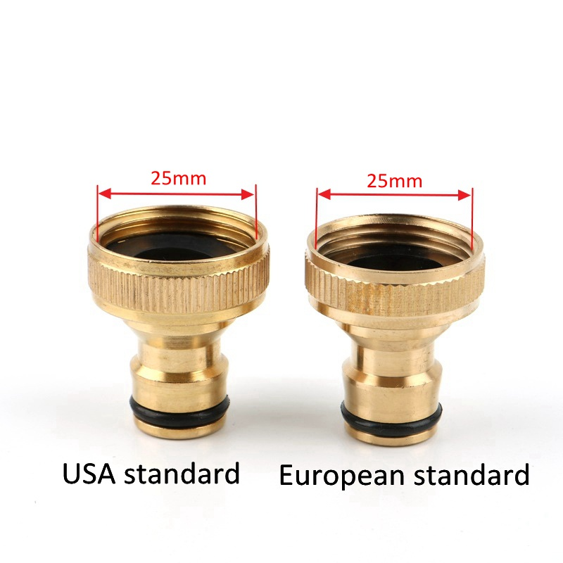 """3//4/"""" Female//Male Hose Pipe Adaptor Fitting Quick Garden Water Connector Adaptor"""