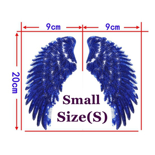1 Pair Blue Small