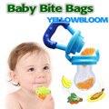 Baby Nipple Food Feeder Safe Pacifier Feeding Bottles Tool Kids Mesh Teeth Bite Bag Fruit Supplies Teat