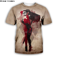 Suicide Squad Harley Quinn by wetransfer-anthony Artist Tee 3D Print t shirt/hoodies/Sweatshirt Men Women long sleeve streetwear