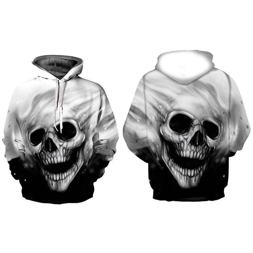 253013ffbdab Aliexpress.com   Buy Hoodies Men 3D Sweatshirt Quality Plus Size Galaxy  Skull Head Sweatshirt Casual Spring Coats Long Sleeve Men Hooded Hoodie  from ...
