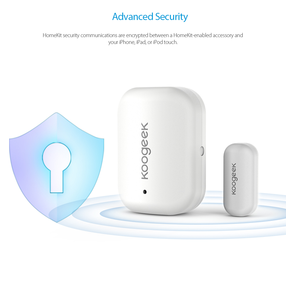 Image 3 - Koogeek Smart Door Window Sensor Wireless Home APP Remote Access Automatic Trigger For Apple HomeKit Home Security Alarm System-in Home Automation Modules from Consumer Electronics