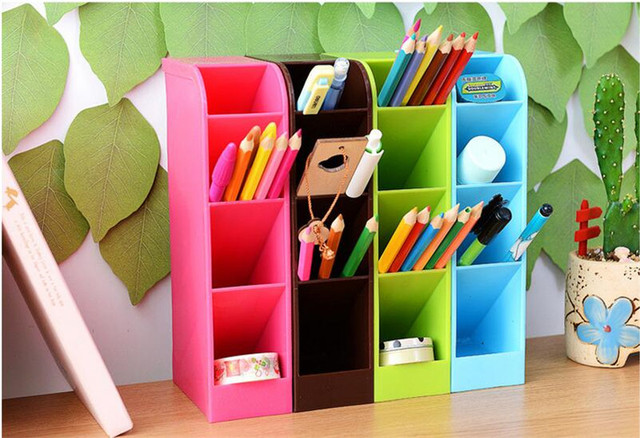 office desktop storage. Multi-function Plastic Office Desktop Storage Boxes Makeup Organizer Box