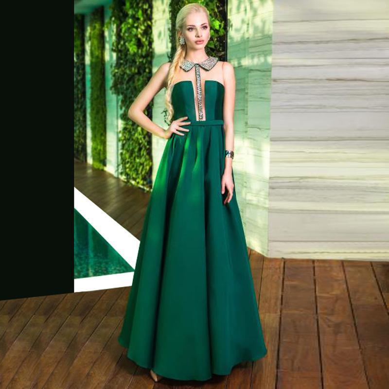B l t long dress emerald
