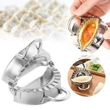 7.5cm Stainless Steel Dumpling Maker Mold Wrapper Dough Cutter Pie Ravioli Dumpling Mould Tools Kitchen Accessories(China)