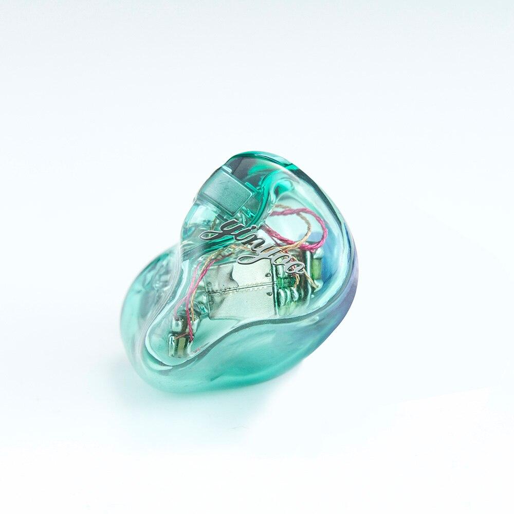 Newest Yinyoo HQ5 5BA in Ear Earphone Custom Made Balanced Armature Around Ear Earphone With MMCX Same as QDC Shell