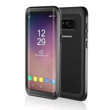 Darbeye samsung kılıfı Galaxy S8 S9 Artı Note9 Tam Vücut Koruyucu Kılıf Kapak için iPhone 7 8 X XS XR XS max Durumda Kapak