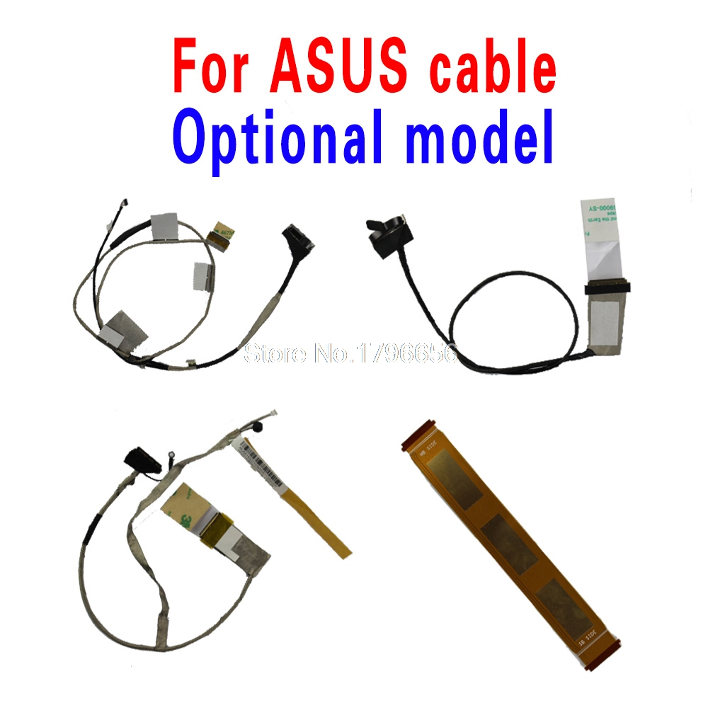 New Original For ASUS X43B K43B K43TK K43TA X43U K43T K53T X53B X53U K53U K53T K53TK K53TA Laptop LVDS LED Video Flex Cable