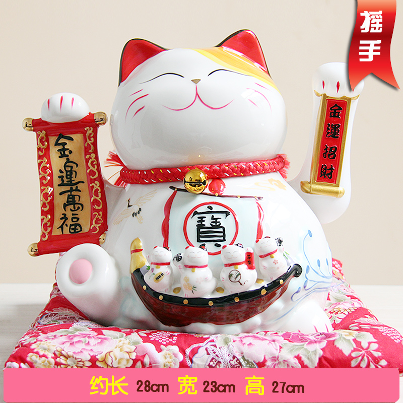 Mano de gato Cinco bendiciones descienden sobre la decoración de la - Decoración del hogar - foto 4