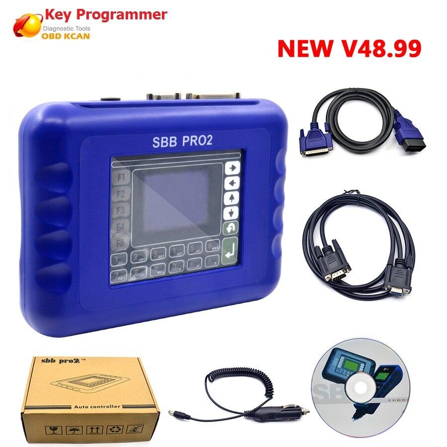 Auto Key Programmer Brazil V33.01 SBB PRO2 Key Programmer For Multi-Brands Brazil SBB V46.02 V33.02 Sbb Brazil V48.88 V48.99