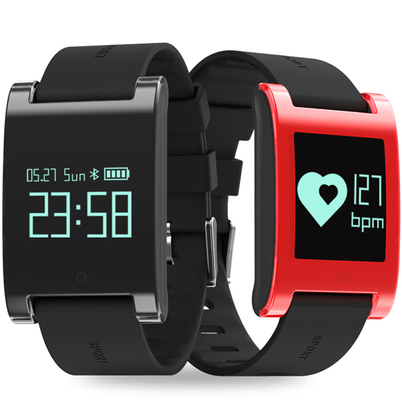 DM68 Smartwatch Waterproof Bluetooth Smart Watch With Blood Pressure Heart Rate Monitor Pedometer Fitness Tracker For