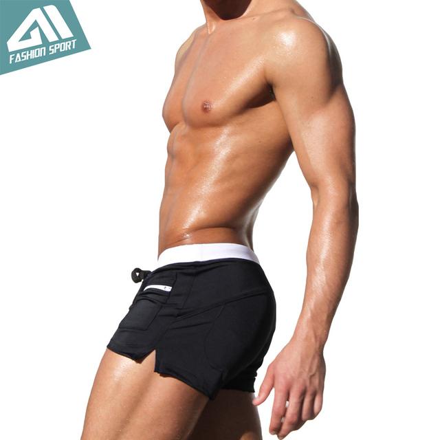 Aimpact New Men's Swimwear Surfing Men Swimming Shorts Summer Holiday Men Beachwear Swimsuit Popular Swim Short AQ02