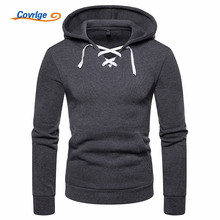 Covrlge New Personality Fashion Coat Casual Long Sleeve Hooded Plus Size Hoodies Men Sweatshirts Hoody MWW139