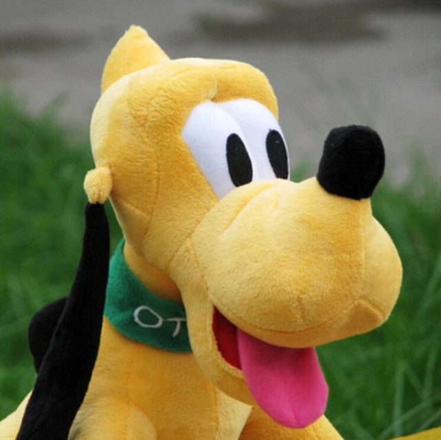 30cm Kawaii Pluto Plush Toys Goofy Dog
