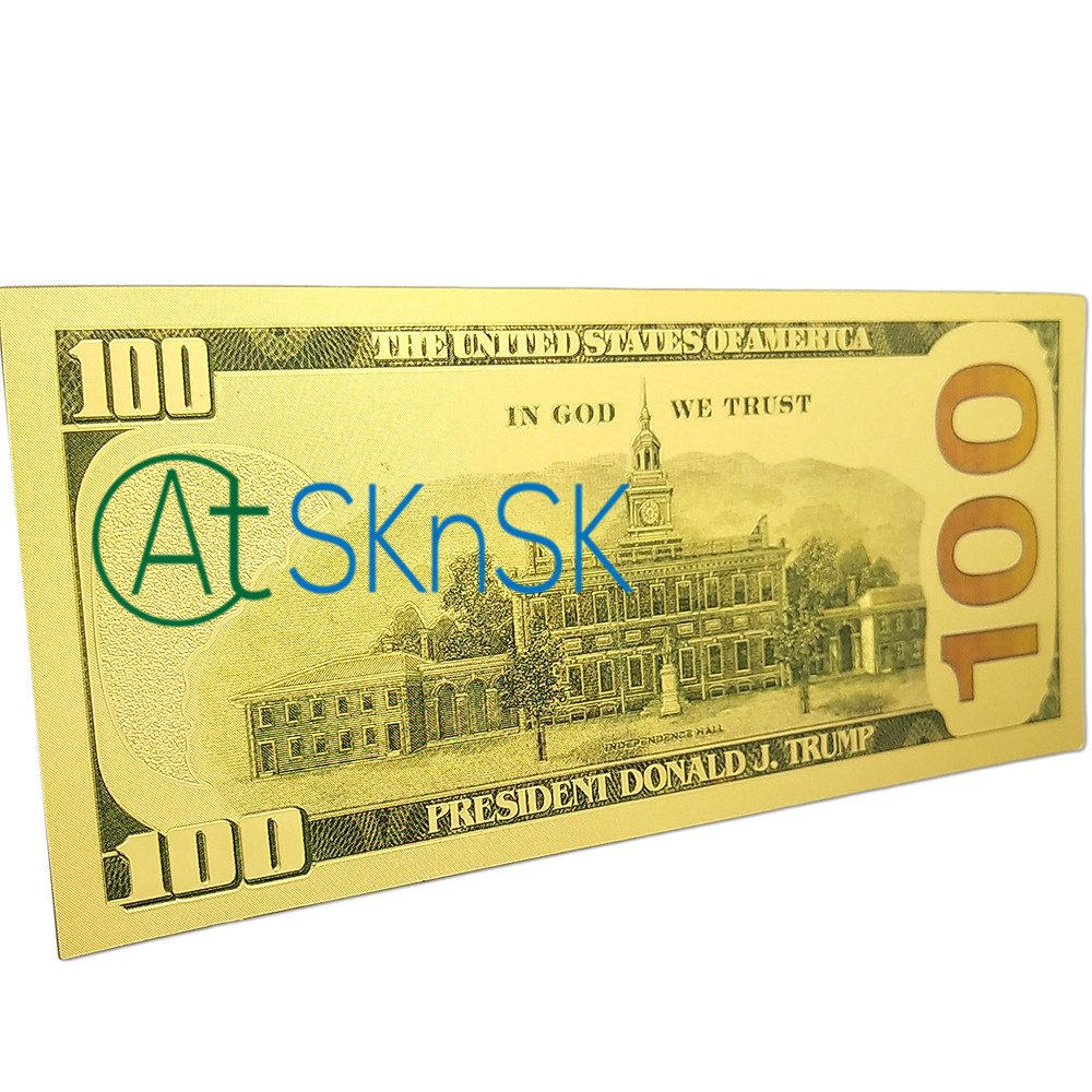 World Paper Money Collection 8pcs / Set $ ​​100 - Үйдің декоры - фото 5