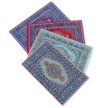 Мини ковры коврики миниатюрный Casa De Boneca ручной турецкие ковры кукольные домики для 1:12 весы DIY кукольный домик интимные аксессуары комплект