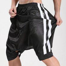Casual Harem Shorts Men Summer culottes fashion Sporting Basketballs shorts male open-crotch capris trousers man good quality